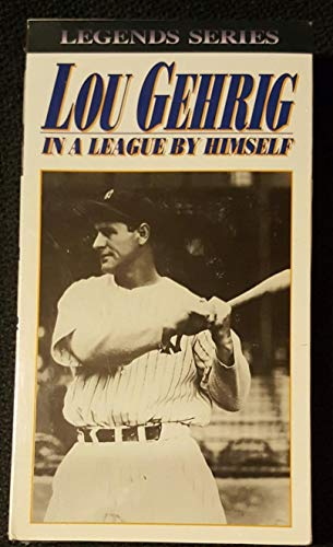 9786302799279: Lou Gehrig:in a League By Himself [VHS]