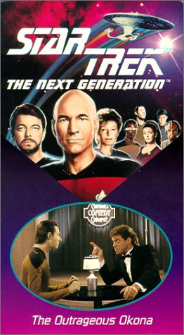 9786302812244: Star Trek - The Next Generation, Episode 30: The Outrageous Okona [VHS]