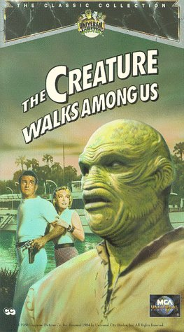 9786302841848: The Creature Walks Among Us [VHS]