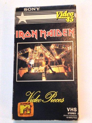 9786302842616: Iron Maiden:Video Pieces [VHS]