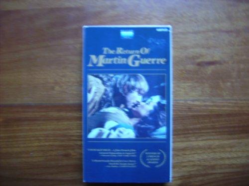9786302843385: Return of Martin Guerre/Subtitled [VHS]