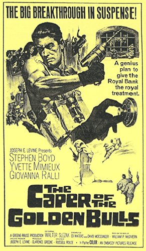 9786302843705: Caper of the Golden Bulls [VHS]