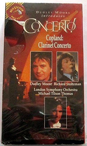 9786302858693: Dudley Moore Introduces Concerto! Volume 5 - Copland: Clarinet Concerto [VHS]