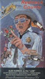 9786302859034: Redneck County [VHS]