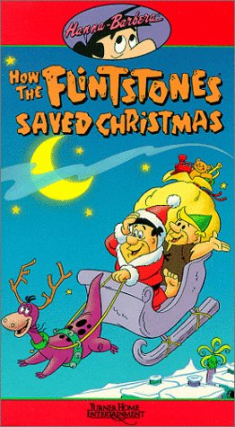 9786302874303: How the Flintstones Saved Christmas [VHS]