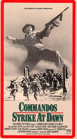 9786302874983: Commandos Strike at Dawn [VHS]