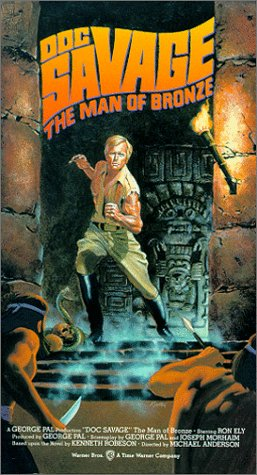 9786302877915: Doc Savage: Man of Bronze [VHS] [Import USA]