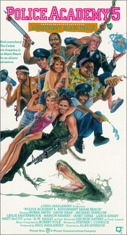 9786302878684: Police Academy 5 [VHS]