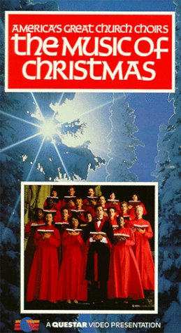 9786302880953: America's Great Church Choirs: The Music of Christmas [VHS]