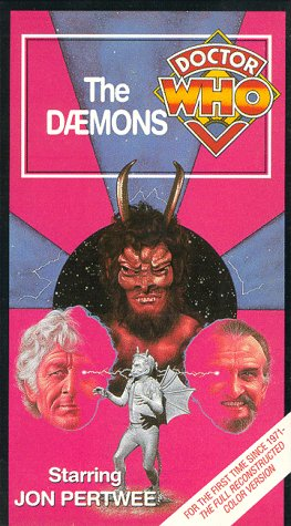 9786302884555: Doctor Who - The Daemons [VHS]