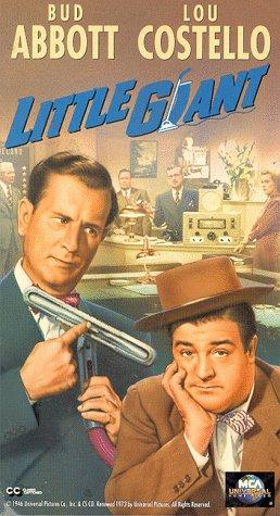 9786302884739: Abbott & Costello: Little Giant [VHS]