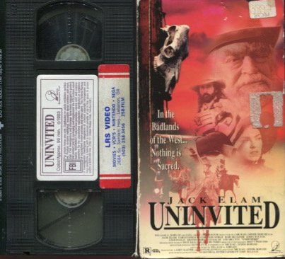 9786302925616: Uninvited [VHS]