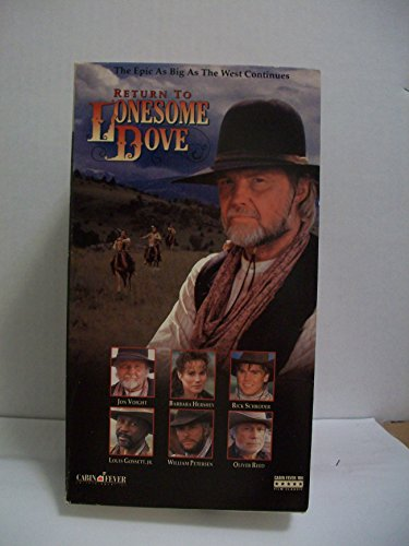 9786302940305: Return to Lonesome Dove [VHS]