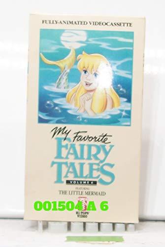 9786302966206: My Favorite Fairy Tales, Volume 6: The Little Mermaid [VHS]