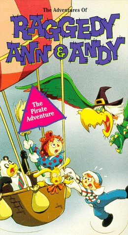 9786302989632: The Adventures of Raggedy Ann & Andy: Pirate Adventure [VHS]