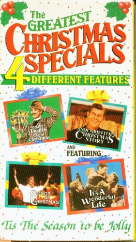 9786302993745: Greatest Christmas Specials : On The Twelfth Day Of Christmas/ Andy Griffith's Christmas Story / Songs Of Christmas / It's A Wonderful Life [VHS]