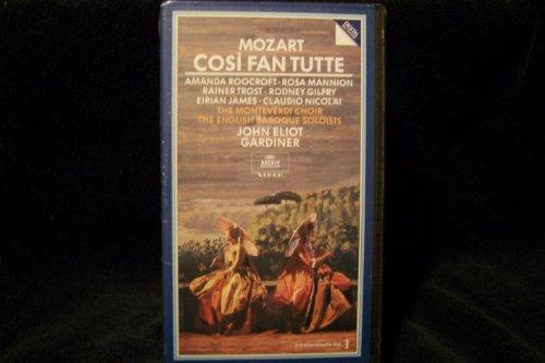 9786303011042: Mozart - Cos� fan tutte / John Eliot Gardiner (1992) [VHS]