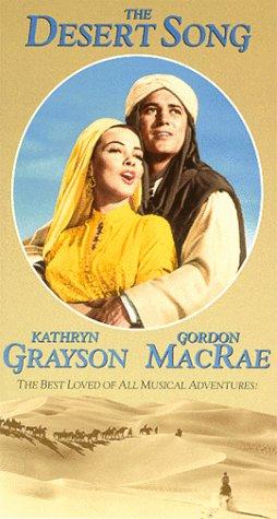 9786303017990: The Desert Song [VHS]