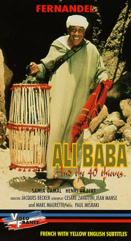 9786303020020: Ali Baba And The 40 Thieves [VHS]