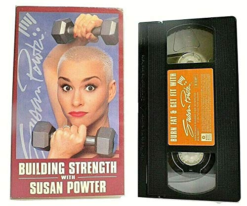 9786303042473: Building Strength with Susan Powter [VHS]