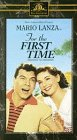 9786303050102: For the First Time [VHS]