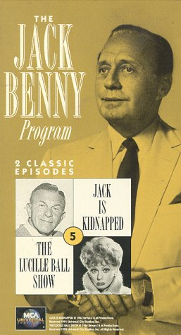 9786303072265: The Jack Benny Program No. 5 (Jack is Kidnapped/The Lucille Ball Show) [VHS]