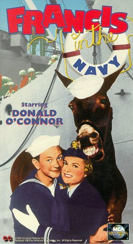 9786303072364: Francis in the Navy [VHS]