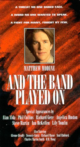9786303073576: And the Band Played On [VHS]