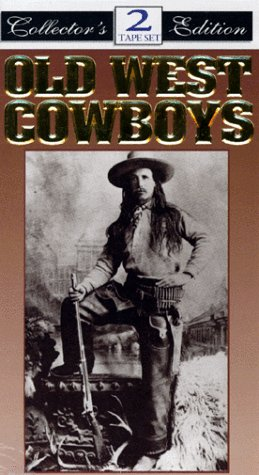 9786303087573: Old West Cowboys [VHS]