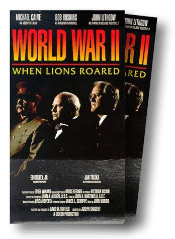 9786303106793: World War 2 - When Lions Roared (TV Mini Series) [VHS]