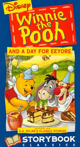 9786303122717: Day for Eeyore W/Puppet Book [VHS]