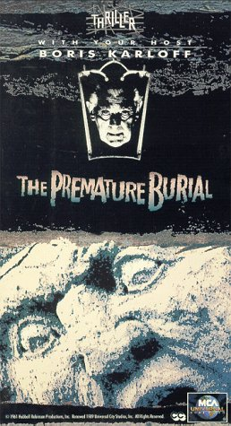 9786303128634: Thriller: The Premature Burial [VHS]