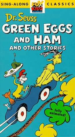 9786303144658: Dr. Seuss: Green Eggs and Ham and Other Stories [VHS]