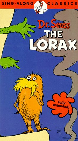 9786303144665: The Lorax - Dr. Seuss - Sing A Long Classics [VHS]