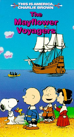 9786303152769: The Mayflower Voyagers (This Is America, Charlie Brown) [VHS]
