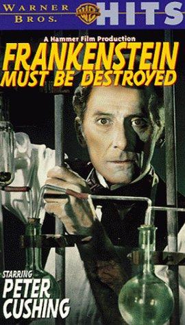 9786303169019: Frankenstein Must Be Destroyed [VHS]