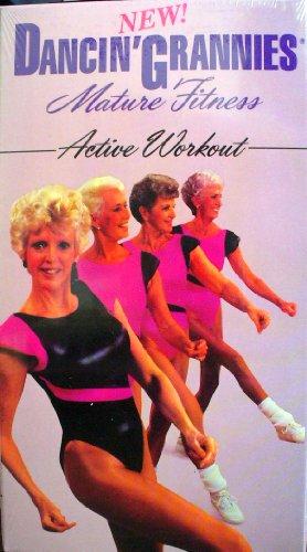 9786303181868: Dancin' Grannies Mature Fitness: Active Workout [VHS]