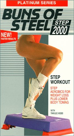 9786303181967: Platinum Series: Buns of Steel Step 2000 - Step Workout [VHS]