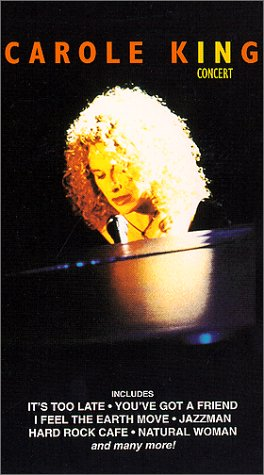 9786303194240: Carole King in Concert [VHS]