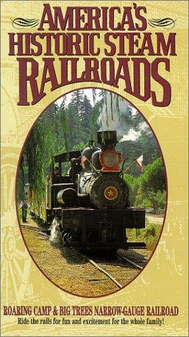 9786303196374: Roaring Camp & Big Trees Narrow-Gauge Railroad [VHS]