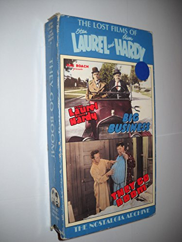 9786303198118: The Lost Films of Laurel & Hardy: Big Business [VHS]