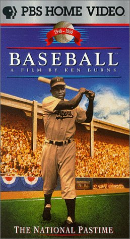 9786303218687: Baseball : The National Pastime - Sixth Inning 1940-1950 [VHS]