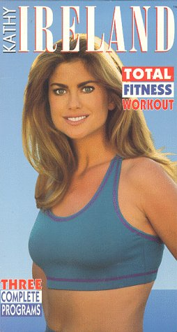 9786303234533: Kathy Ireland: Total Fitness Workout [VHS]