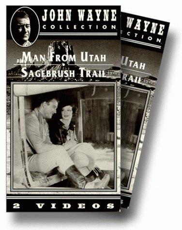 9786303244167: John Wayne: Man From Utah & Sagebrush Trail [VHS]
