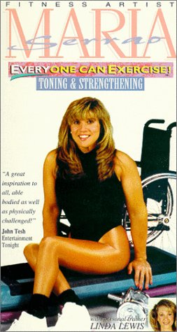 9786303251387: MARIA SERRAO: Everyone Can Exercise - Toning & Strengthening [VHS]