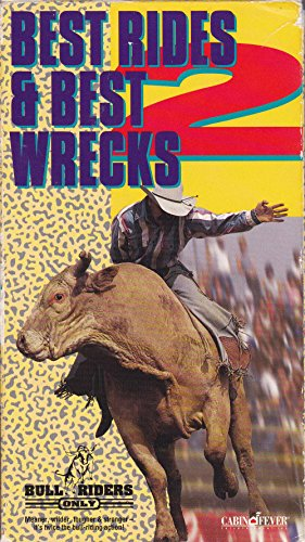 9786303270920: Bull Riders Only: Best Rides & Best Wrecks 2 [VHS]