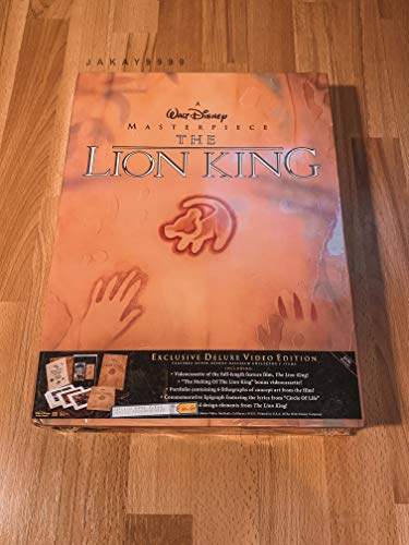 9786303314006: The Lion King (Deluxe Collector's Edition) [VHS]