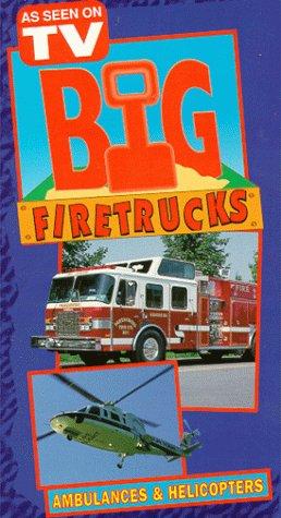 9786303318592: Big Firetrucks: Ambulances & Rescue Helicopters [VHS]