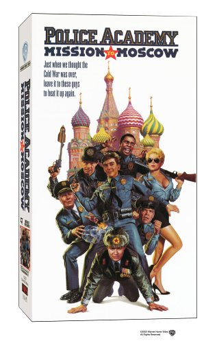 9786303326733: Police Academy 7 - Mission to Moscow [VHS]