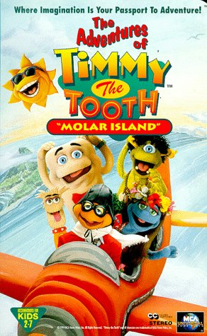 9786303336299: The Adventures of Timmy the Tooth: Molar Island [USA] [VHS]